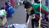 Despiden a 30 empleados por retiro violento de vendedores del Zócalo