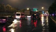 Valle de México amanece con lluvia que afecta el tránsito vehicular