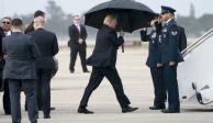 Trump deja la cumbre de la OTAN entre burlas de sus homólogos (VIDEO)