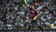Nahuel se defiende de lo sucedido en la semifinal de Concachampions