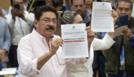 Ulises Ruiz, Ivonne Ortega y 'Alito' se registran para dirigir el PRI