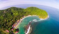 Ixtapa Zihuatanejo, pueblo turístico que alberga playas, bahía y ciclopista