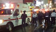 Un muerto y 6 heridos, saldo de un intento de robo afuera de Metro Tacuba