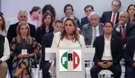 """""""No hay línea"""" en proceso interno del PRI: Ruiz Massieu"""