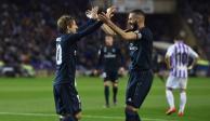 """Modric """"se quita el sombrero"""" ante Benzema tras su gol ante el Huesca"""