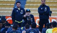 Diego Armando Maradona, y sus condiciones para seguir en Dorados