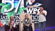 Julio César Chávez recibe homenaje en Convención 57 del CMB