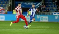 Héctor Herrera juega 60 minutos en empate 1-1 entre Atlético y Alavés