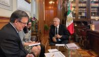 AMLO y Trump hablan por teléfono y charlan sobre cooperación