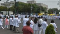 Da Secretaría de Salud plazo de 72 horas para pagar a médicos residentes