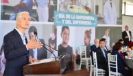 Informa Del Mazo incremento de personal de enfermerías en el Edomex