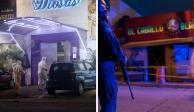 Bares y tables, principales blancos de ataques armados