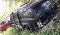 Localizan en Tamaulipas 3 camionetas blindadas y 3 más con reporte de robo