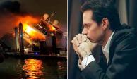 Se incendia yate de Marc Anthony, valuado en 7 millones de dólares (FOTOS)