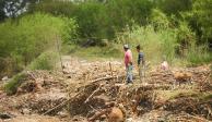 En NL localizan cuerpo de hombre arrastrado por río tras tormenta Fernand