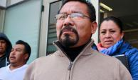 Cipriano Charrez realiza huelga de hambre en penal de Hidalgo