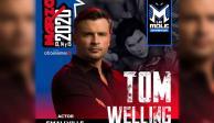 """Tom Welling, estrella de """"Smallville"""", viene a México para La Mole Convention"""