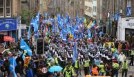Marchan 250 mil en Edimburgo en exigencia de independencia de RU