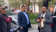 Presuntos escoltas golpean a trabajadores de Miguel Hidalgo