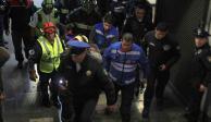 Joven recibe balazo en la Morelos y lo atienden en Metro Martín Carrera