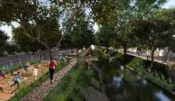 IMÁGENES: Así es el proyecto para hacer al Canal Nacional un parque lineal