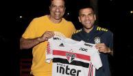 ¡Oficial! Dani Alves es nuevo jugador del Sao Paulo