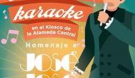 """Karaoke en la Alameda, para conmemorar al """"Príncipe de la Canción"""": Sheinbaum"""