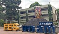 Vandalizan instalaciones de FES Acatlán durante paro de labores