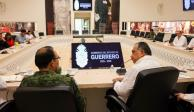 Evalúan las acciones de seguridad en municipios de Guerrero