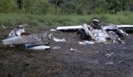 Localizan avionetas con cocaína en Guatemala; hay 2 mexicanos muertos