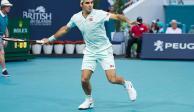 Federer enfrentará en octavos de final del Masters de Miami a Medvedev