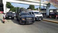 Restablecen servicio de transporte público en Acapulco