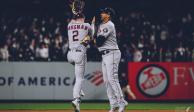 Astros vence 4-1 a Yankees y se pone arriba en Serie de Campeonato de la Americana
