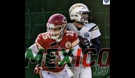 NFL anuncia su regreso a México con el partido Chiefs vs Chargers
