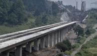 Presunto trabajador cae en excavación de 48 metros del Tren Interurbano