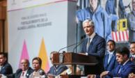 Encabeza Alfredo Del Mazo firma del Acuerdo para Fortalecimiento de Alianza Laboral Mexiquense