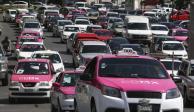 Conoce los posibles puntos de afectaciones viales por protestas de taxistas