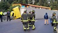 Accidente en la carretera México-Toluca colapsa vialidad; reportan 1 muerto
