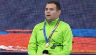Nadador Diego López Díaz gana oro y plaza para Tokio 2020
