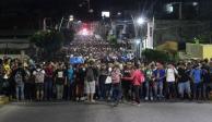 Desvían a caravana migrante, no la dejan llegar a Huixtla