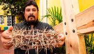 HISTORIAS: Corona de espinas en la Pasión de Cristo, herencia y tradición en Iztapalapa