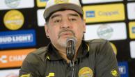 Maradona recibió alta médica; desea regresar a Sinaloa