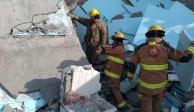 Muere albañil atrapado bajo escombros de derrumbe en Monterrey