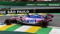 Checo Pérez, lejos del Top 10 en tercera práctica del GP de Brasil