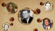 La maldición que ha azotado a la familia Kennedy por cuatro generaciones