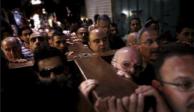Miles de peregrinos recrean el viacrucis en Jerusalén