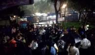 PGJ investiga balacera en Metro Tacuba que dejó a un menor muerto
