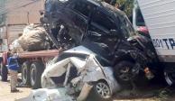 Suman 4 muertos tras carambola provocada por tráiler en Santa Fe