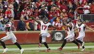 Los 49ers pierden ante Falcons, pero clasifican a playoffs (VIDEO)