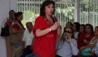 """""""No dejaré contienda del PRI"""", asegura Ivonne Ortega"""